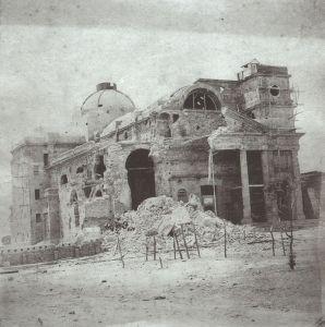 Bombardeo de Paysandu. Colección Javier Yubi